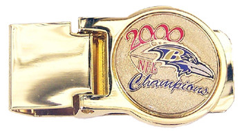 Baltimore Ravens 2000 NFL Champions Money Clip