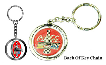 Bill Elliott #9 Spinner Key Chain