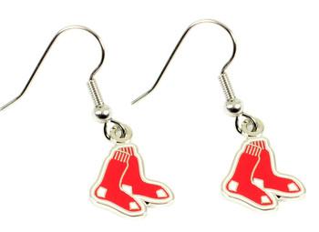 Boston Red Sox Earrings