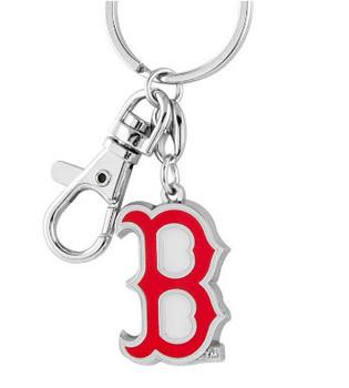 Boston Red Sox Heavy Brass Logo Key Chain