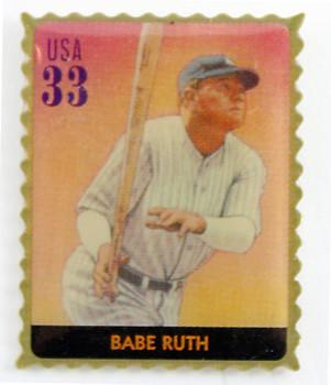 Babe Ruth Stamp Pin