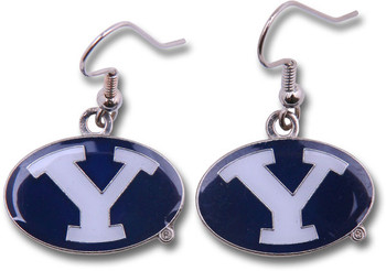 Brigham Young Dangler Earrings