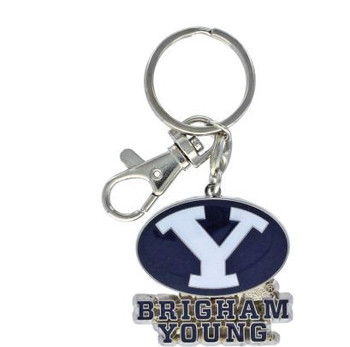 Brigham Young Key Chain