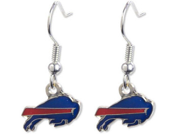 Buffalo Bills Logo Earrings