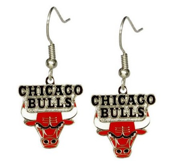 Chicago Bulls Earrings