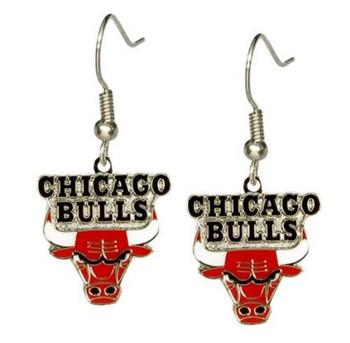 Chicago Bulls Earrings