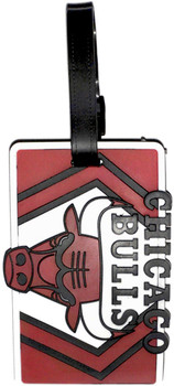 Chicago Bulls Luggage Bag Tag