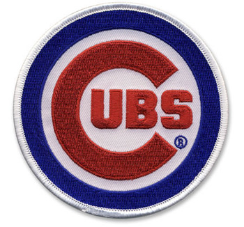 Chicago Cubs Embroidered Emblem Patch