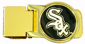 Chicago White Sox Brass Money Clip