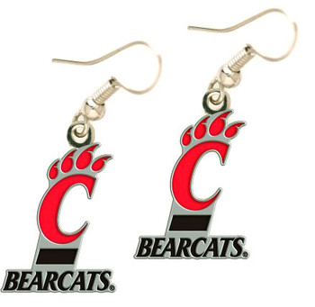 Cincinnati Bearcats Earrings