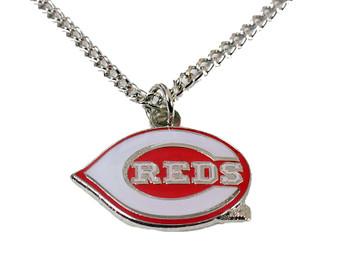 Cincinnati Reds Logo Necklace