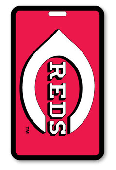Cincinnati Reds Luggage Bag Tag