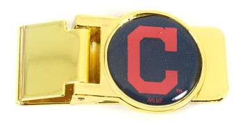 Cleveland Indians Brass Money Clip