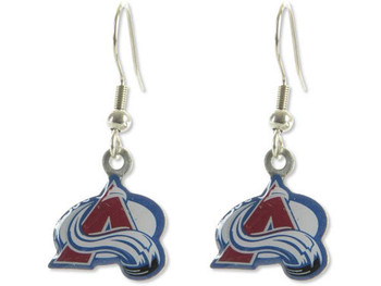 Colorado Avalanche Earrings