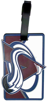 Colorado Avalanche Luggage Bag Tag