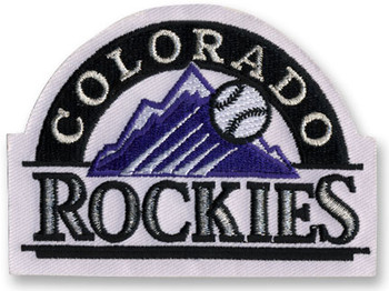 Colorado Rockies Embroidered Emblem Logo Patch