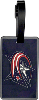 Columbus Blue Jackets Luggage Bag Tag
