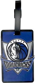 Dallas Mavericks Luggage Bag Tag