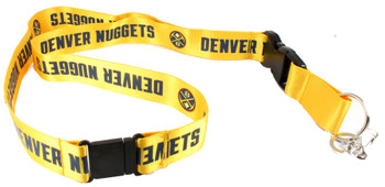 Denver Nuggets Lanyard - Gold