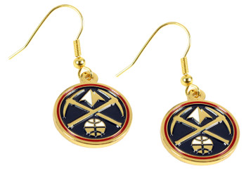 Denver Nuggets Logo Earrings