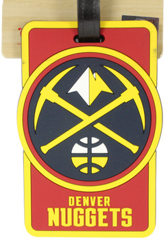 Denver Nuggets Luggage Bag Tag