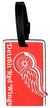 Detriot Red Wings Luggage Bag Tag