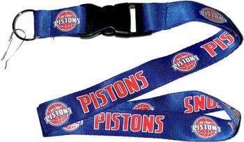 Detroit Pistons Lanyard