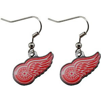 Detroit Red Wings Earrings