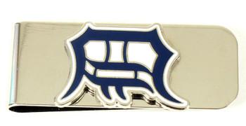 Detroit Tigers Brass Money Clip