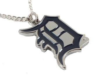 Detroit Tigers Logo Necklace