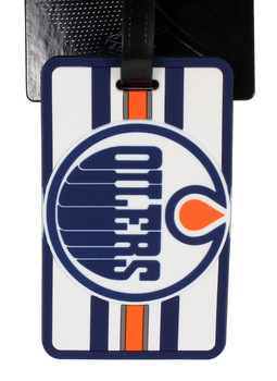 Edmonton Oilers Luggage Bag Tag