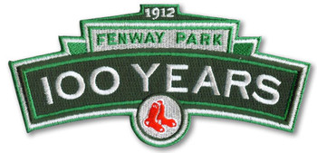 Fenway Park 100 Years Patch