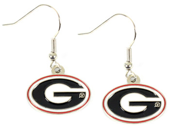 Georgia Bulldog Earrings
