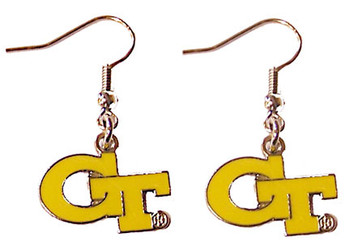 Georgia Tech Earrings