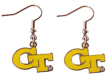 Georgia Tech Earrings