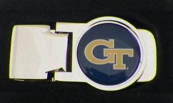 Georgia Tech Money Clip