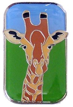 Giraffe Brass Magnet