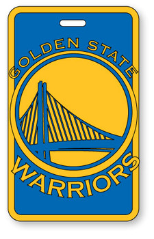 Golden State Warriors Luggage Bag Tag