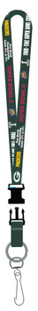 Green Bay Packers 4 Time Super Bowl Champs Lanyard