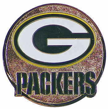 Green Bay Packers Circle Logo Magnet