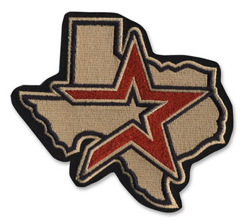 Houston Astros Embroidered Emblem Patch