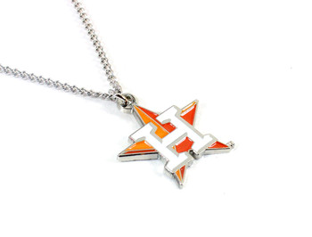 Houston Astros Logo Necklace
