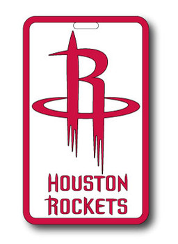 Houston Rockets Luggage Bag Tag