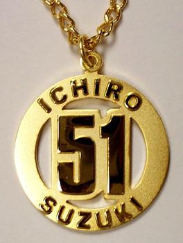Ichiro #51 Gold Medallion