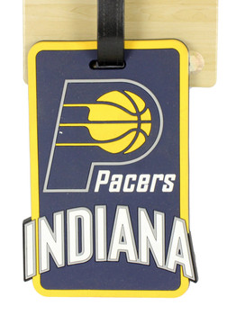 Indiana Pacers Luggage Bag Tag