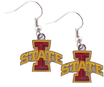 Iowas State Logo Earrings