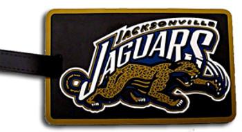 Jacksonville Jaguars Luggage/Bag Tag