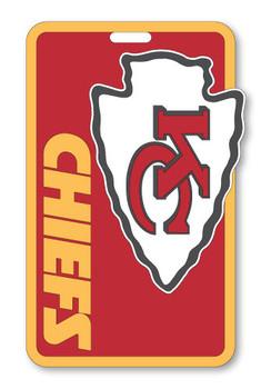 Kansas City Chiefs Luggage/Bag Tag