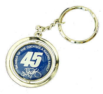 Kyle Petty #45 Spinner Key Chain