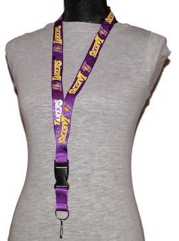 Los Angeles Lakers Lanyard - Purple